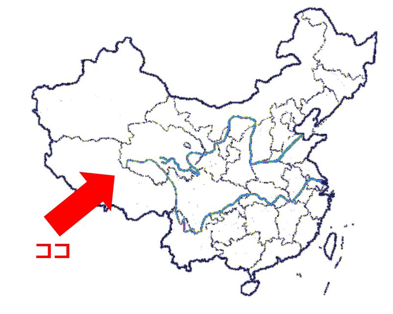 map zizang