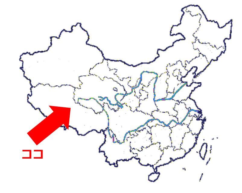 map zizang